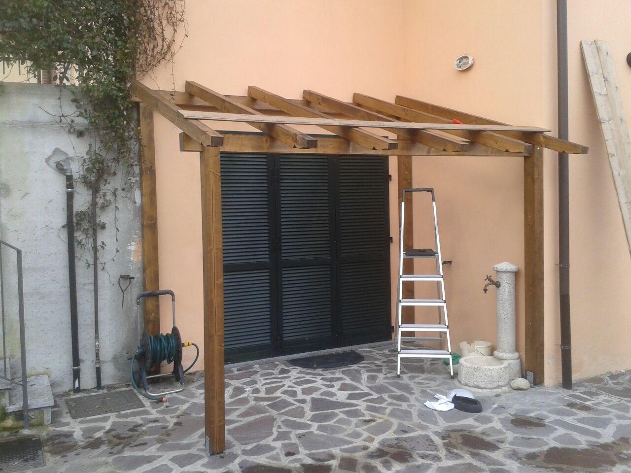 Costruzioni legno Vigevano e Pavia - travi,tetti,case,gazebo